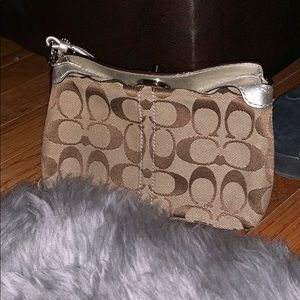 Authentic coach wristlet brand new